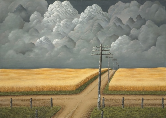 Gray and Gold, by John Rogers Cox, 1942