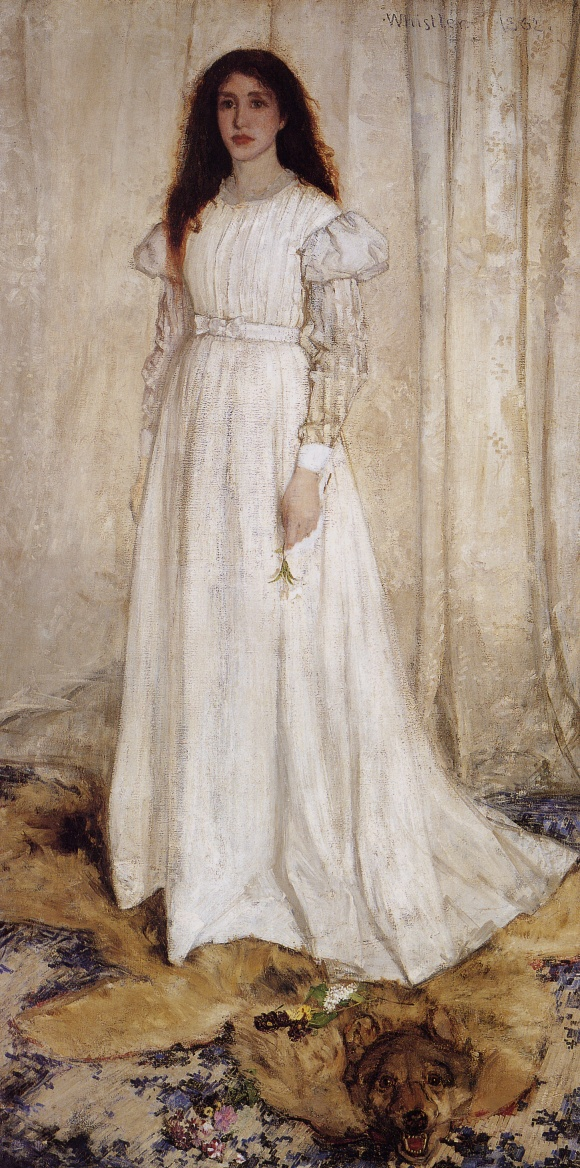 Symphony in White No. 1: The White Girl, James Whistler, 1862